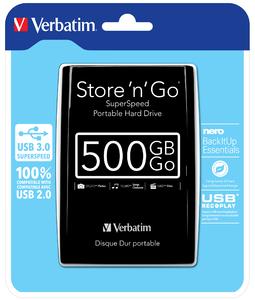 verbatim disque dur 500go